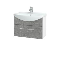 Dreja - Kúpeľňová skriňa TAKE IT SZZ 65 - N01 Bílá lesk / Úchytka T04 / D20 Galaxy (279363E)