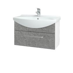 Dreja - Kúpeľňová skriňa TAKE IT SZZ 75 - N01 Bílá lesk / Úchytka T01 / D20 Galaxy (279424A)