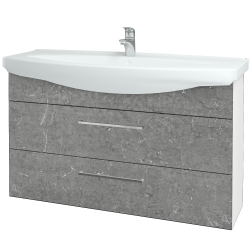 Dreja - Kúpeľňová skriňa TAKE IT SZZ2 120 - N01 Bílá lesk / Úchytka T04 / D20 Galaxy (279622E)