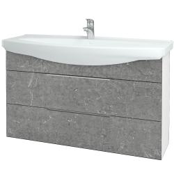 Dreja - Kúpeľňová skriňa TAKE IT SZZ2 120 - N01 Bílá lesk / Úchytka T05 / D20 Galaxy (279622F)