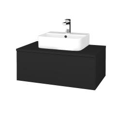 Dreja - Kúpeľňová skrinka MODULE SZZ1 80 - L03 Antracit vysoký lesk / L03 Antracit vysoký lesk (297558)