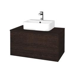 Dreja - Kúpeľňová skrinka MODULE SZZ2 80 - D08 Wenge / D08 Wenge (297930)