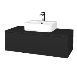 Dreja - Kúpeľňová skrinka MODULE SZZ1 100 - L03 Antracit vysoký lesk / L03 Antracit vysoký lesk (298968)