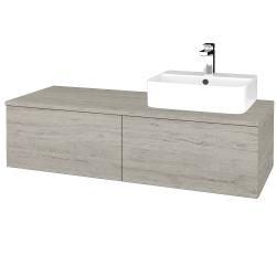 Dreja - Kúpeľňová skrinka MODULE SZZ12 120 - D05 Oregon / D05 Oregon / Pravé (301200P)