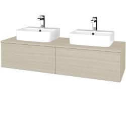 Dreja - Kúpeľňová skrinka MODULE SZZ12 140 - D04 Dub / D04 Dub (303075)