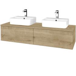 Dreja - Kúpeľňová skrinka MODULE SZZ12 140 - D09 Arlington / D09 Arlington (303112)
