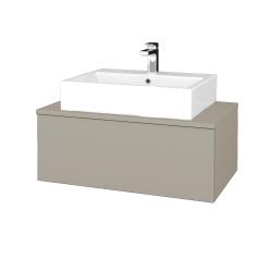 Dreja - Kúpeľňová skrinka MODULE SZZ1 80 - M05 Béžová mat / M05 Béžová mat (311629)