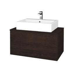 Dreja - Kúpeľňová skrinka MODULE SZZ2 80 - D08 Wenge / D08 Wenge (312022)