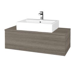 Dreja - Kúpeľňová skrinka MODULE SZZ1 100 - D03 Cafe / D03 Cafe (312923)