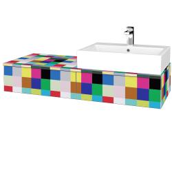 Dreja - Kúpeľňová skrinka MODULE SZZ2 120 - IND Individual / IND Individual / Levé (313982)