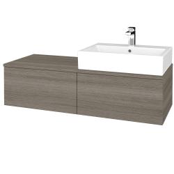 Dreja - Kúpeľňová skrinka MODULE SZZ12 120 - D03 Cafe / D03 Cafe / Levé (314804)