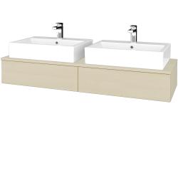 Dreja - Kúpeľňová skrinka MODULE SZZ2 140 - D02 Bříza / D02 Bříza (316679)