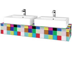 Dreja - Kúpeľňová skrinka MODULE SZZ2 140 - IND Individual / IND Individual (316808)
