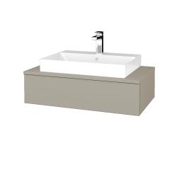 Dreja - Kúpeľňová skrinka MODULE SZZ 80 - L04 Béžová vysoký lesk / L04 Béžová vysoký lesk (332846)