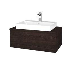 Dreja - Kúpeľňová skrinka MODULE SZZ1 80 - D08 Wenge / D08 Wenge (333218)