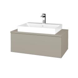 Dreja - Kúpeľňová skrinka MODULE SZZ1 80 - M05 Béžová mat / M05 Béžová mat (333287)