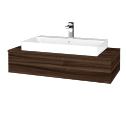 Dreja - Kúpeľňová skrinka MODULE SZZ 100 - D06 Ořech / D06 Ořech (334147)