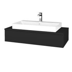 Dreja - Kúpeľňová skrinka MODULE SZZ 100 - L03 Antracit vysoký lesk / L03 Antracit vysoký lesk (334246)