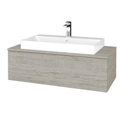Dreja - Kúpeľňová skrinka MODULE SZZ1 100 - D05 Oregon / D05 Oregon (334680)