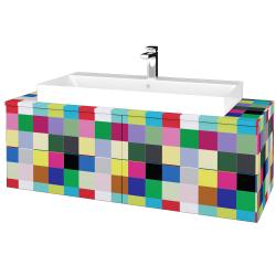 Dreja - Kúpeľňová skrinka MODULE SZZ4 120 - IND Individual / IND Individual (336752)