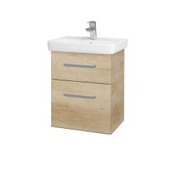 Dreja - Kúpeľňová skriňa GO SZZ2 50 - D15 Nebraska / Úchytka T01 / D15 Nebraska (175108A)