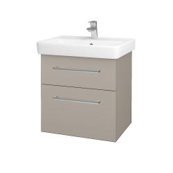 Dreja - Kúpeľňová skriňa Q MAX SZZ2 60 - N07 Stone / Úchytka T03 / N07 Stone (198282C)