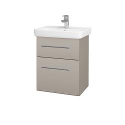 Dreja - Kúpeľňová skriňa GO SZZ2 50 - N07 Stone / Úchytka T02 / N07 Stone (204594B)