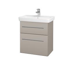 Dreja - Kúpeľňová skriňa GO SZZ2 55 - N07 Stone / Úchytka T02 / N07 Stone (204785B)