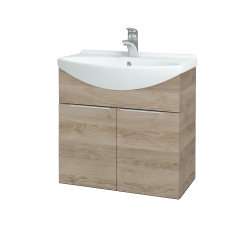 Dreja - Kúpeľňová skriňa TAKE IT SZD2 65 - D17 Colorado / Úchytka T05 / D17 Colorado (205874F)