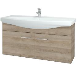 Dreja - Kúpeľňová skriňa TAKE IT SZD2 120 - D17 Colorado / Úchytka T04 / D17 Colorado (206512E)