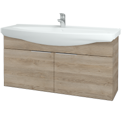 Dreja - Kúpeľňová skriňa TAKE IT SZD2 120 - D17 Colorado / Úchytka T05 / D17 Colorado (206512F)