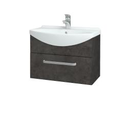 Dreja - Kúpeľňová skriňa TAKE IT SZZ 65 - D16  Beton tmavý / Úchytka T01 / D16 Beton tmavý (206666A)