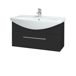 Dreja - Kúpeľňová skriňa TAKE IT SZZ 85 - N03 Graphite / Úchytka T02 / N03 Graphite (207083B)