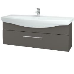 Dreja - Kúpeľňová skriňa TAKE IT SZZ 120 - N06 Lava / Úchytka T04 / N06 Lava (207410E)