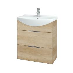 Dreja - Kúpeľňová skriňa TAKE IT SZZ2 65 - D15 Nebraska / Úchytka T05 / D15 Nebraska (207458F)