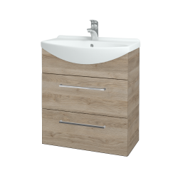 Dreja - Kúpeľňová skriňa TAKE IT SZZ2 65 - D17 Colorado / Úchytka T04 / D17 Colorado (207472E)