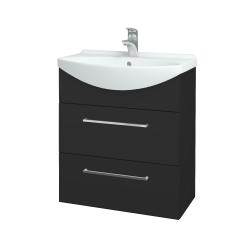 Dreja - Kúpeľňová skriňa TAKE IT SZZ2 65 - N03 Graphite / Úchytka T04 / N03 Graphite (207564E)