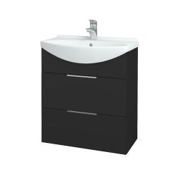 Dreja - Kúpeľňová skriňa TAKE IT SZZ2 65 - N03 Graphite / Úchytka T05 / N03 Graphite (207564F)