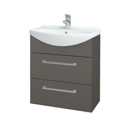 Dreja - Kúpeľňová skriňa TAKE IT SZZ2 65 - N06 Lava / Úchytka T03 / N06 Lava (207571C)