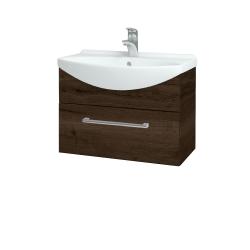 Dreja - Kúpeľňová skriňa TAKE IT SZZ 65 - D21 TOBACCO / Úchytka T03 / D21 Tobacco (279073C)