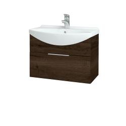 Dreja - Kúpeľňová skriňa TAKE IT SZZ 65 - D21 TOBACCO / Úchytka T05 / D21 Tobacco (279073F)