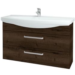 Dreja - Kúpeľňová skriňa TAKE IT SZZ2 120 - D21 TOBACCO / Úchytka T01 / D21 Tobacco (279332A)