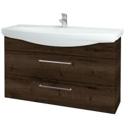 Dreja - Kúpeľňová skriňa TAKE IT SZZ2 120 - D21 TOBACCO / Úchytka T04 / D21 Tobacco (279332E)