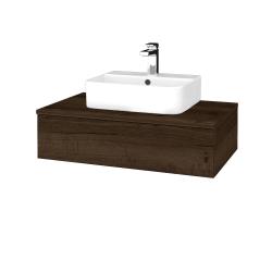 Dreja - Kúpeľňová skrinka MODULE SZZ 80 - D21 TOBACCO / D21 Tobacco (297374)