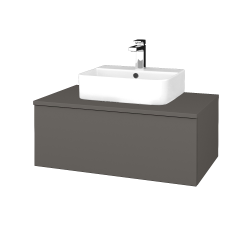 Dreja - Kúpeľňová skrinka MODULE SZZ1 80 - N06 Lava / N06 Lava (297589)