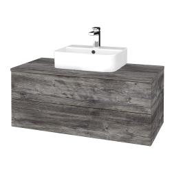 Dreja - Kúpeľňová skrinka MODULE SZZ2 100 - D10 Borovice Jackson / D10 Borovice Jackson (299361)