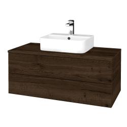 Dreja - Kúpeľňová skrinka MODULE SZZ2 100 - D21 TOBACCO / D21 Tobacco (299729)