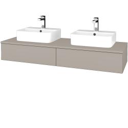 Dreja - Kúpeľňová skrinka MODULE SZZ2 140 - N07 Stone / N07 Stone (302764)