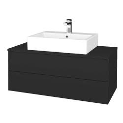 Dreja - Kúpeľňová skrinka MODULE SZZ2 100 - N03 Graphite / N03 Graphite (313548)