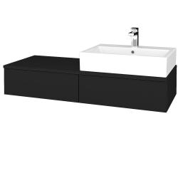 Dreja - Kúpeľňová skrinka MODULE SZZ2 120 - N08 Cosmo / N08 Cosmo / Levé (314040)